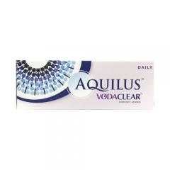 Jednodenní čočky Aquilus Vodaclear Daily (30 čoček)
